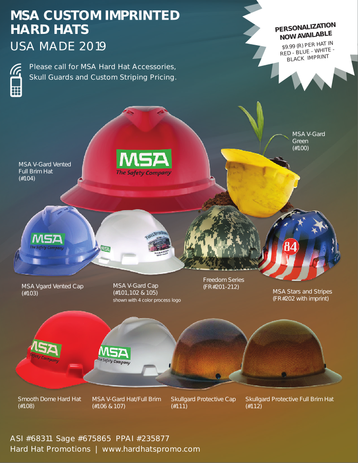 Hard Hats Catalog Image